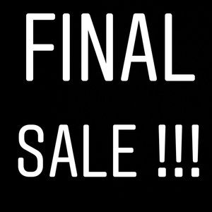 Other - FINAL SALE !!!!! $25